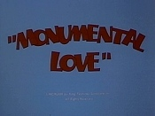 Monumental Love Cartoon Character Picture