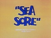 Sea Sore Cartoon Picture