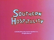 Southern Hospitality Cartoon Character Picture