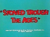 Stoned Trough The Ages Cartoon Character Picture
