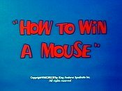 How To Win A Mouse Cartoon Character Picture