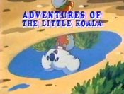 The Koala Butterfly Cartoon Picture