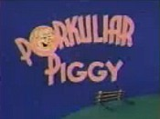 Porkuliar Piggy Cartoon Picture