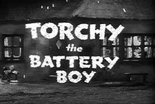 Torchy The Battery Boy Theatrical Cartoon Series Logo