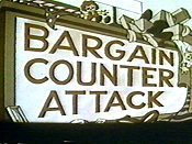 Bargain Counter Attack Cartoon Picture