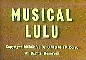 Musica-Lulu Picture Of The Cartoon