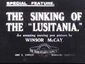 The Sinking Of The Lusitania Picture Into Cartoon