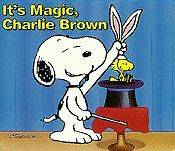 It's Magic, Charlie Brown Free Cartoon Picture