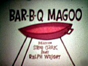 Bar-B-Q Magoo Picture Into Cartoon