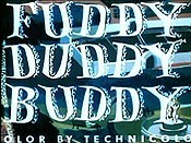 Fuddy Duddy Buddy Free Cartoon Picture