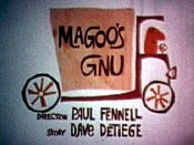 Magoo's Gnu Cartoon Picture