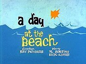 A Day at The Beach Free Cartoon Pictures