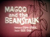 Magoo And The Beanstalk Picture Into Cartoon