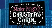 Mister Magoo's Christmas Carol Picture Into Cartoon