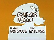 Composer Magoo The Cartoon Pictures