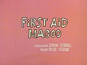 First Aid Magoo Picture Into Cartoon
