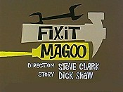 Fixit Magoo Cartoon Picture