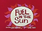 Fuel In The Sun Cartoon Picture