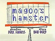 Magoo's Hamster Picture Into Cartoon