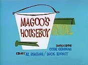 Magoo's Houseboy Picture Into Cartoon