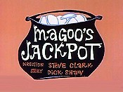 Magoo's Jackpot Cartoon Character Picture