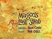 Magoo's Last Stand Cartoon Funny Pictures