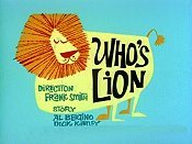 Who's Lion Cartoon Picture