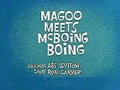 Magoo Meets McBoing Boing Pictures Cartoons
