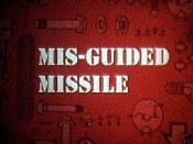 Mis-Guided Missile Cartoon Character Picture