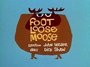 Foot Loose Moose Picture Into Cartoon