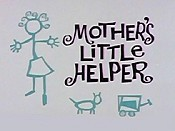 Mother's Little Helper Cartoon Character Picture