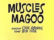 Muscles Magoo Picture Into Cartoon