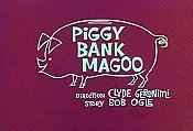 Piggy Bank Magoo Cartoon Picture