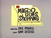 Magoo Goes Shopping Cartoon Picture