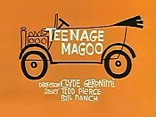 Teenage Magoo Cartoon Picture