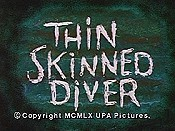 Thin Skinned Diver Cartoon Character Picture