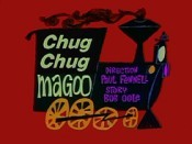 Chug Chug Magoo Picture Into Cartoon