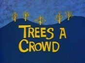 Trees A Crowd Cartoon Picture