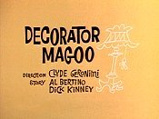 Decorator Magoo Picture Into Cartoon