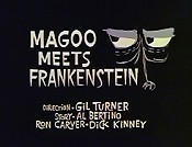 Magoo Meets Frankenstein Picture Into Cartoon