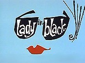 Lady In Black Cartoon Picture