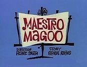 Maestro Magoo Picture Into Cartoon