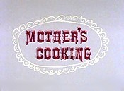 Mother's Cooking Cartoon Picture