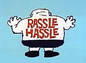 Rassle Hassle Picture Into Cartoon