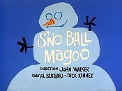 S'No Ball Magoo Picture Into Cartoon