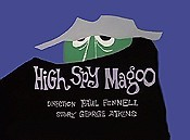 High Spy Magoo Cartoon Picture
