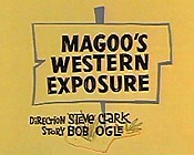 Magoo's Western Exposure Picture Into Cartoon