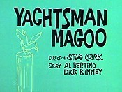 Yachtsman Magoo Cartoon Picture