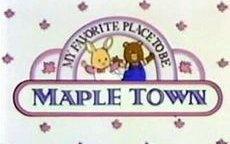 The Maple Town Children's Newspaper Picture Into Cartoon
