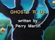 Ghosts 'R' Us Cartoon Picture